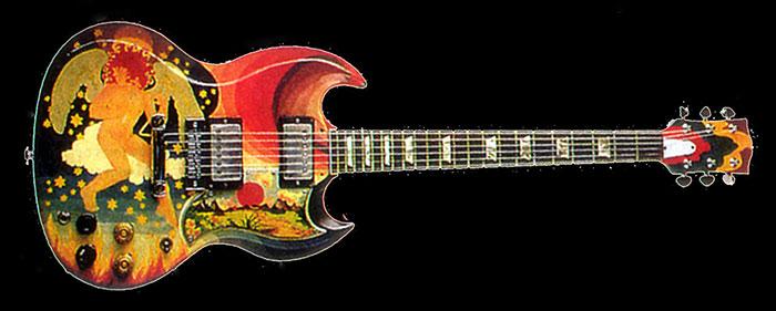Clapton-SG-guitar