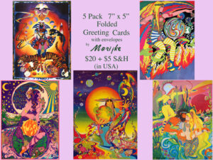 PSYCHEDELIC GREETING CARDS
