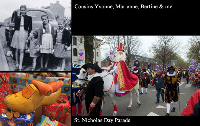 Cousins and Sinterklaas