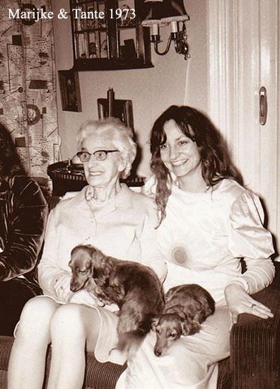 Marijke and Tante 1973