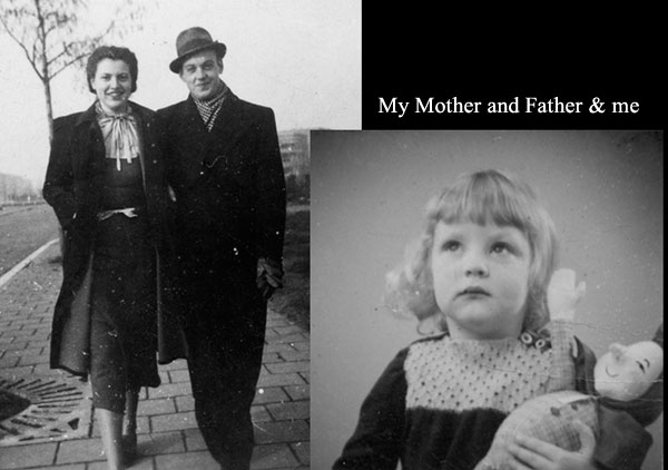 My Mother and Father & me
