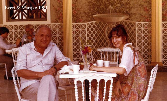 Evert and Marijke 1981