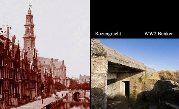 Rozengracht and BunkerWW2