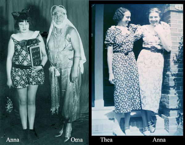 Anna & Oma , Thea & Anna
