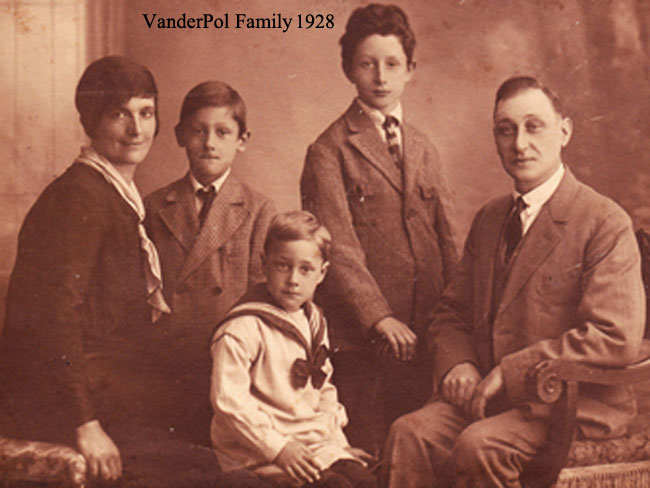 VanderPol Family 1928