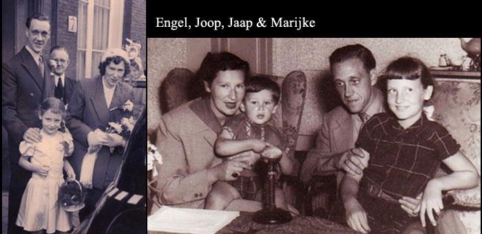 Engel, Joop, Jaap and Marijke