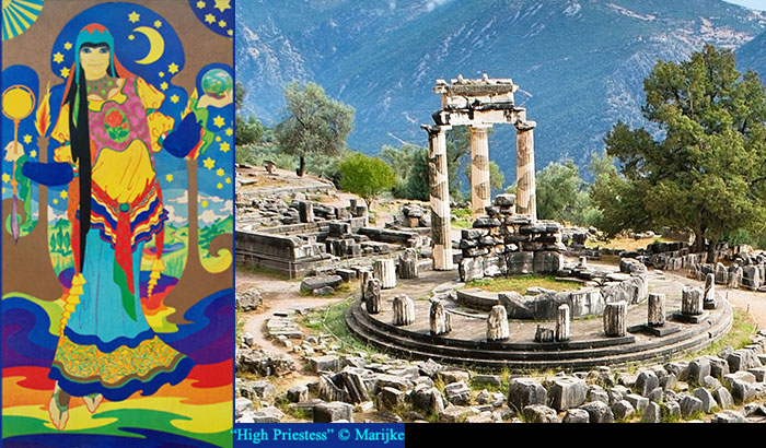 Delphi HIgh Priestess