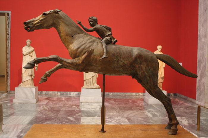 Artemesion Horse & Jockey