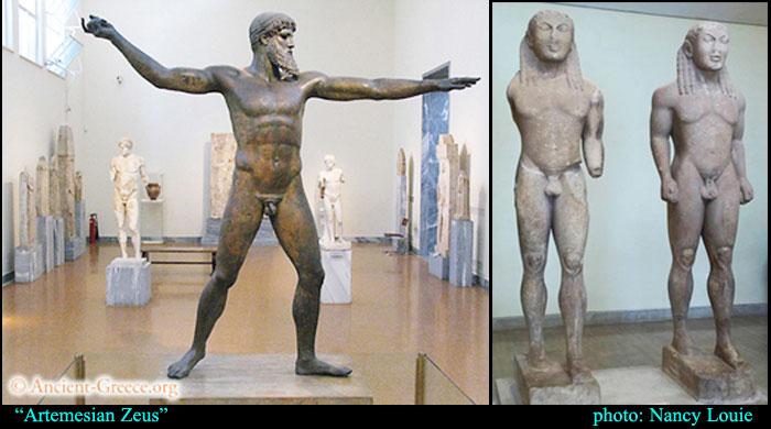 Zeus and Kouros