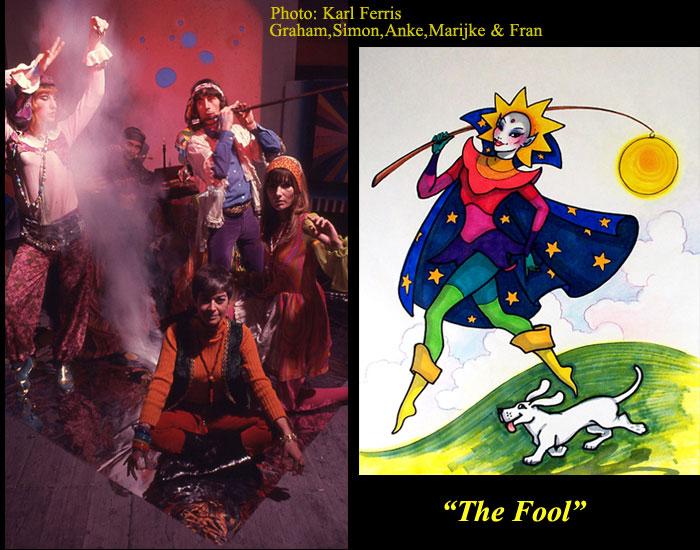Bond  Fran Anke S&M    The Fool card