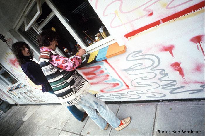 George & Simon Painting