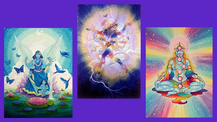 Shiva & Jai Ma Skyclad