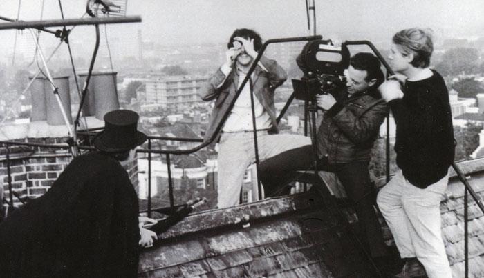 JOE on roof